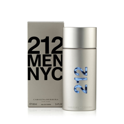 Carolina Herrera 212 Men Eau de Toilette Mens Spray 3.4 oz.