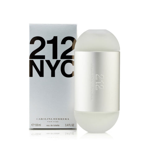 Carolina Herrera 212 Eau de Toilette Womens Spray 3.4 oz.