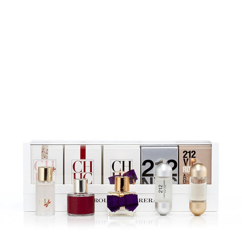 Herrera 5Pcs Miniature Set for Women by Carolina Herrera 0.3 oz. Each