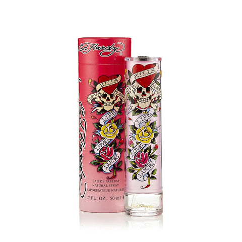 Ed Hardy Eau de Parfum Spray for Women by Christian Audigier 1.7 oz.