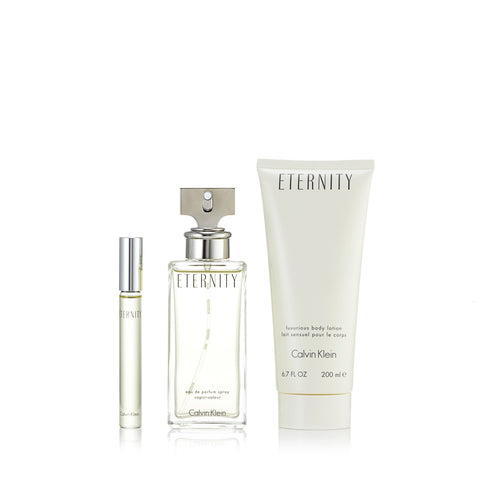 Eternity Set for Women by Calvin Klein 3.4 oz.
