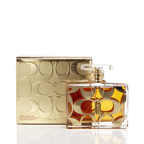 Signature Rose D'Or Eau de Parfum Spray for Women by Coach 3.4 oz.