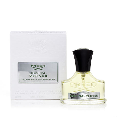 Creed Original Vetiver Eau de Parfum Mens Spray 1.0 oz.