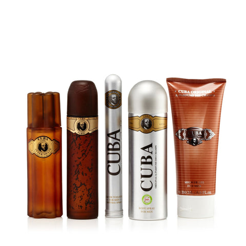 Cuba Must Have Gold Gift Set Mens  3.3 oz.