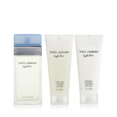 D&G Light Blue Gift Set Womens 3.3 oz.