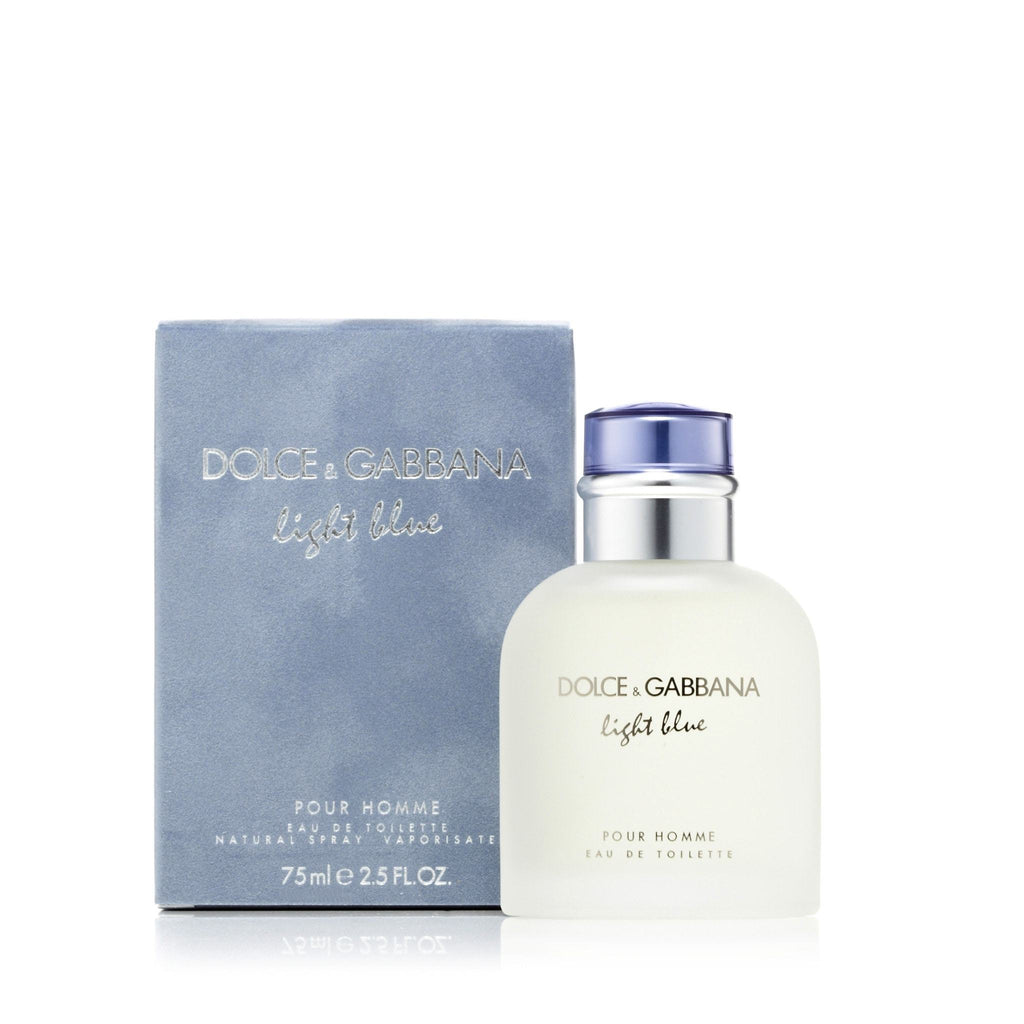 D&G Light Blue Eau de Toilette Mens Spray 2.5 oz.