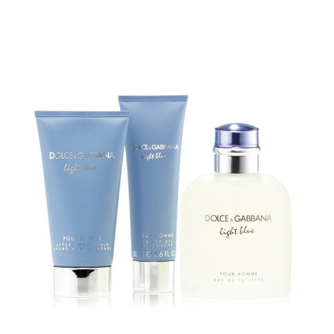D&G Light Blue Gift Set Mens