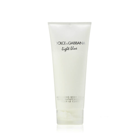 D&G Light Blue Body Cream Womens  6.7 oz.