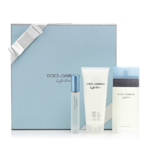 D&G Light Blue Gift Set Womens 3.4 oz.