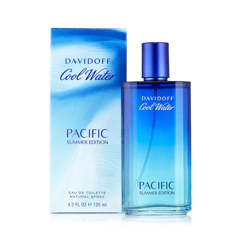 Cool Water Pacific Summer Edition 2017 Eau de Toilette Spray for Men by Davidoff 3.4 oz.