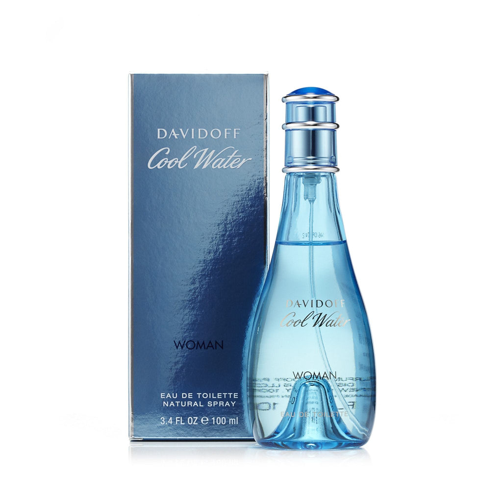 Davidoff Cool Water Eau de Toilette Womens Spray 3.4 oz.