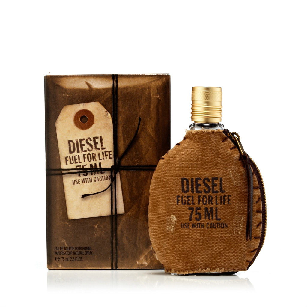 Diesel Fuel For Life Eau de Toilette Mens Spray 2.5 oz.
