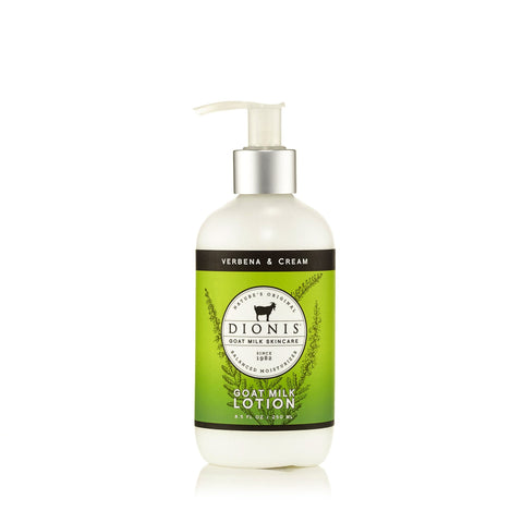 Verbena and Cream Body Lotion by Dionis 8.5 oz.