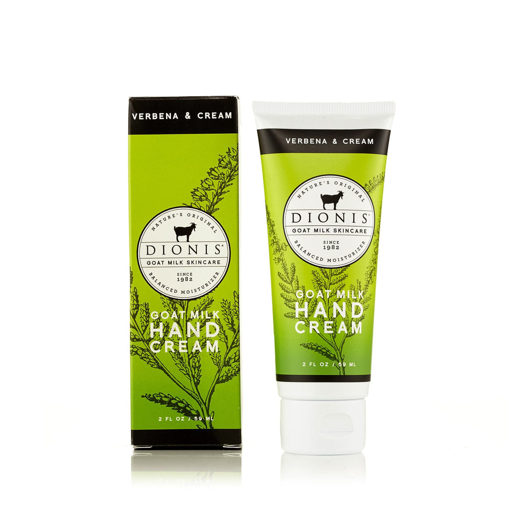 Verbena and Cream Hand Cream by Dionis 2 oz.