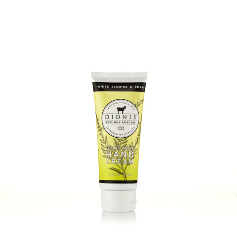White Jasmine and Shea Hand Cream by Dionis 2 oz.