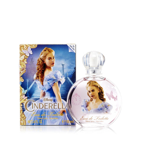 Cinderella Eau de Toilette Spray for Girls by Disney 3.4 oz.