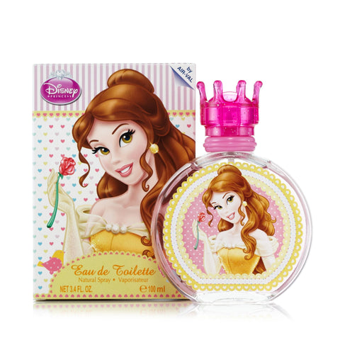 Beauty and the Beast Eau de Toilette Spray for Girls by Disney 3.4 oz.