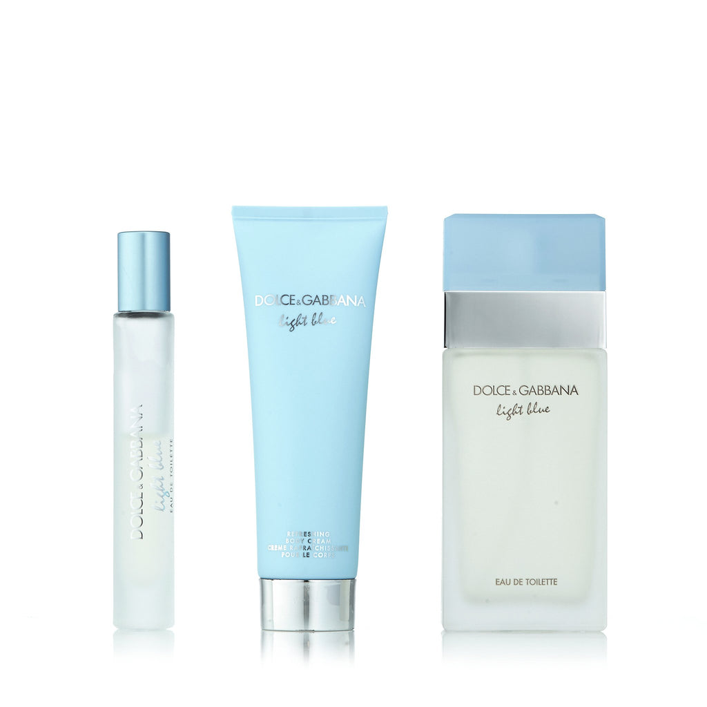 Light Blue Set for Women by D&G 1.6 oz.