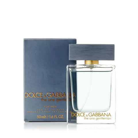 The One Gentleman Eau de Toilette Spray for Men by D&G 1.6 ozimage