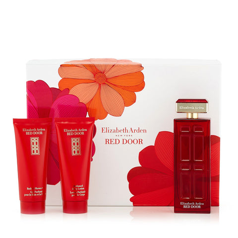 Red Door Gift Set EDT, Body Lotion and Shower Gel for Women by Elizabeth Arden 3.3 oz.image