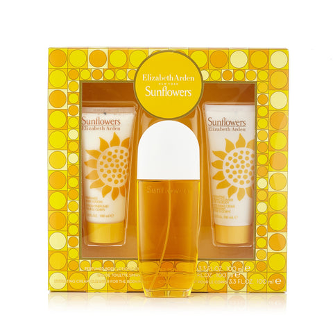 Sunflowers Gift Set for Women by Elizabeth Arden 3.3 oz.