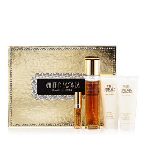 Elizabeth Taylor White Diamonds Gift Set Womens 3.3 oz.image