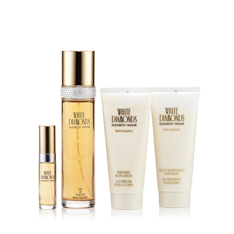Elizabeth Taylor White Diamonds Gift Set Womens 3.3 oz.