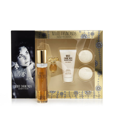 Elizabeth Taylor White Diamonds Gift Set Womens 1.7 oz.