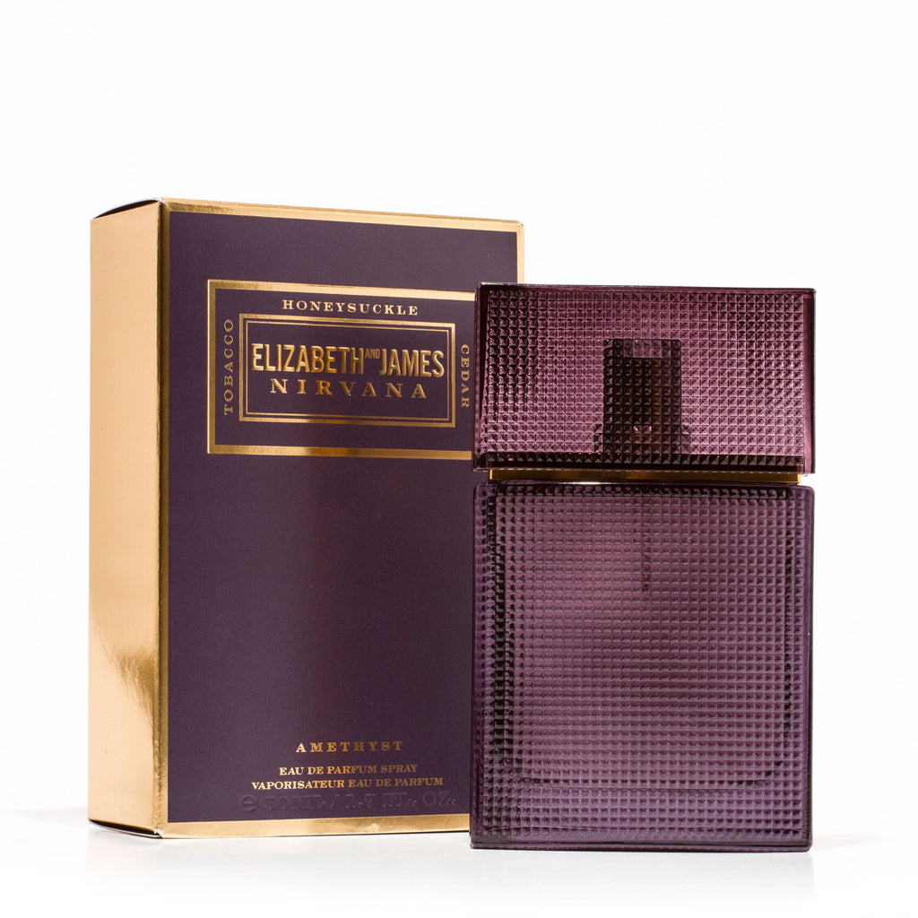 Nirvana Amethyst Eau de Parfum Spray for Women by Elizabeth and James 1.7 oz.