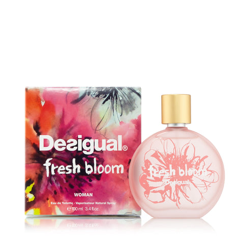 Desigual Fresh Bloom Eau de Toilette Spray for Women 3.4 oz.