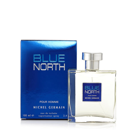 Blue North Eau de Toilette Spray for Men 3.4 oz.