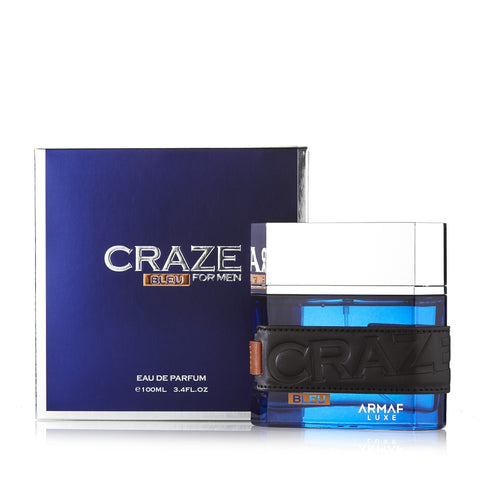 Craze Bleu Eau de Parfum Spray for Men 3.4 oz.