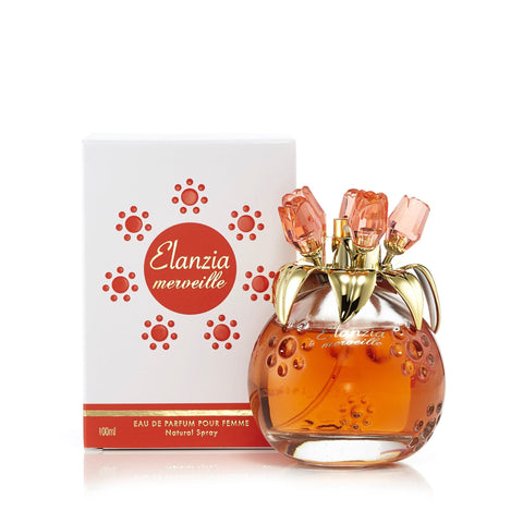Elanzia Mervielle Orange Eau de Parfum Spray for Women 3.3 oz.