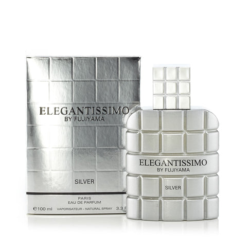 Elegantissimo Silver Eau de Parfum Spray for Men 3.3 oz.