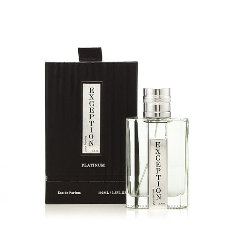 Exception Platinum Eau de Parfum Spray for Men 3.3 oz.