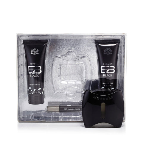 Exclusive Selection Extasia Black Gift Set Mens 3.3 oz.