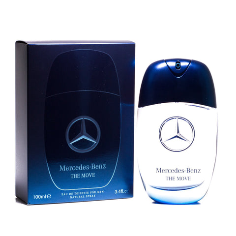 The Move Eau de Toilette Spray for Men by Mercedes-Benz 3.4 oz.image