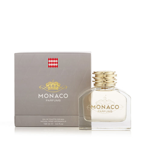 Monaco Parfums Eau de Toilette Spray for Men 3.0 oz.