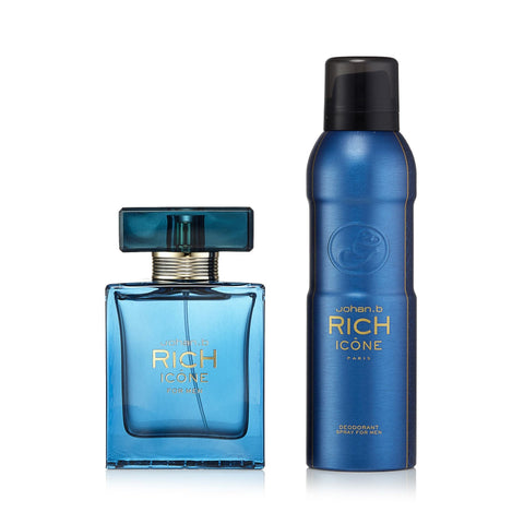 Rich Icone Gift Set for Men 3.0 oz.