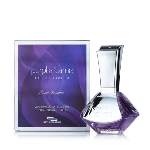 Purple Flame Eau de Parfum Spray for Women 3.4 oz.