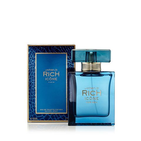 Rich Icone Eau de Toilette Spray for Men 3.4 oz.