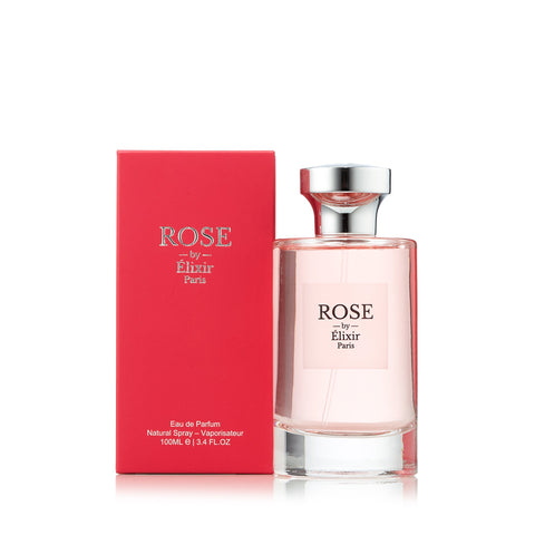 Rose Eau de Parfum Spray for Women by Elixir Paris 3.4 oz.