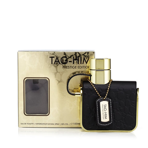 Tag Him Prestige Eau de Toilette Spray for Men 3.4 oz.