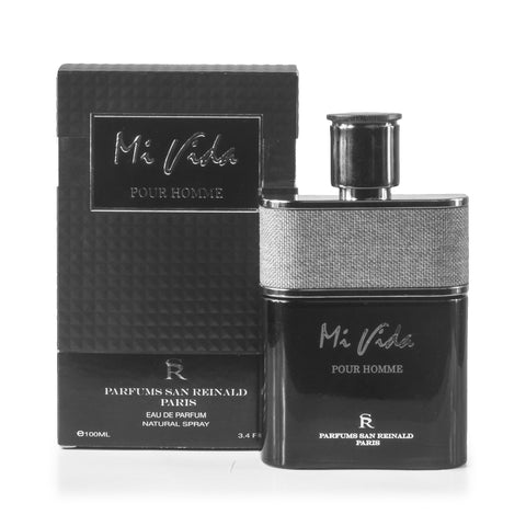 Mi Vida Pour Homme Eau de Parfum Spray for Men 3.4 oz.