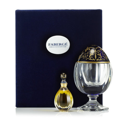 Fabulous Flacon Fragrance & Saint Louis Crystal Egg by Fabrege 2 oz.