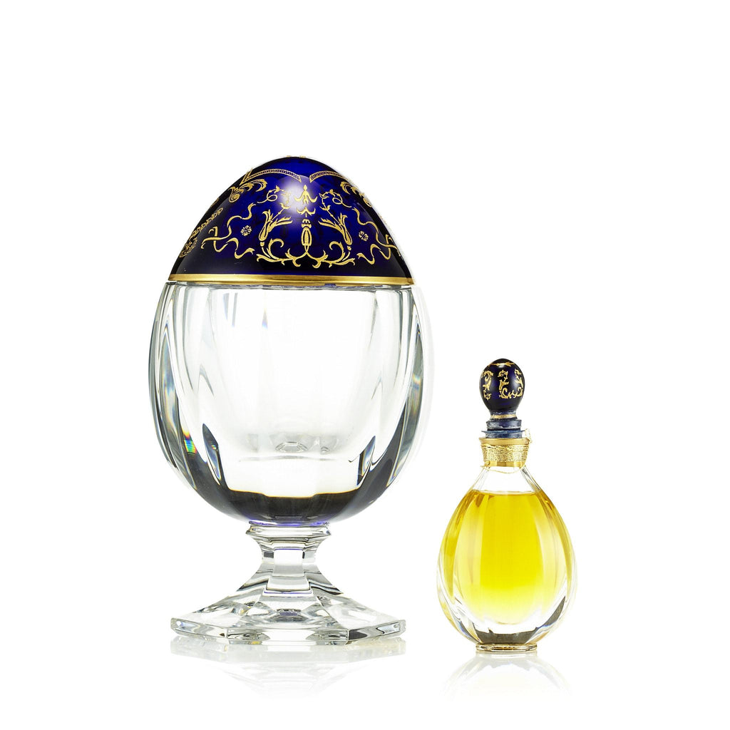 Fabulous Flacon Fragrance & Saint Louis Crystal Egg by Fabrege 2 oz