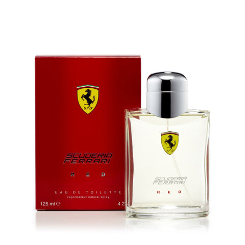 Ferrari Red Eau de Toilette Mens Spray 4.2 oz.