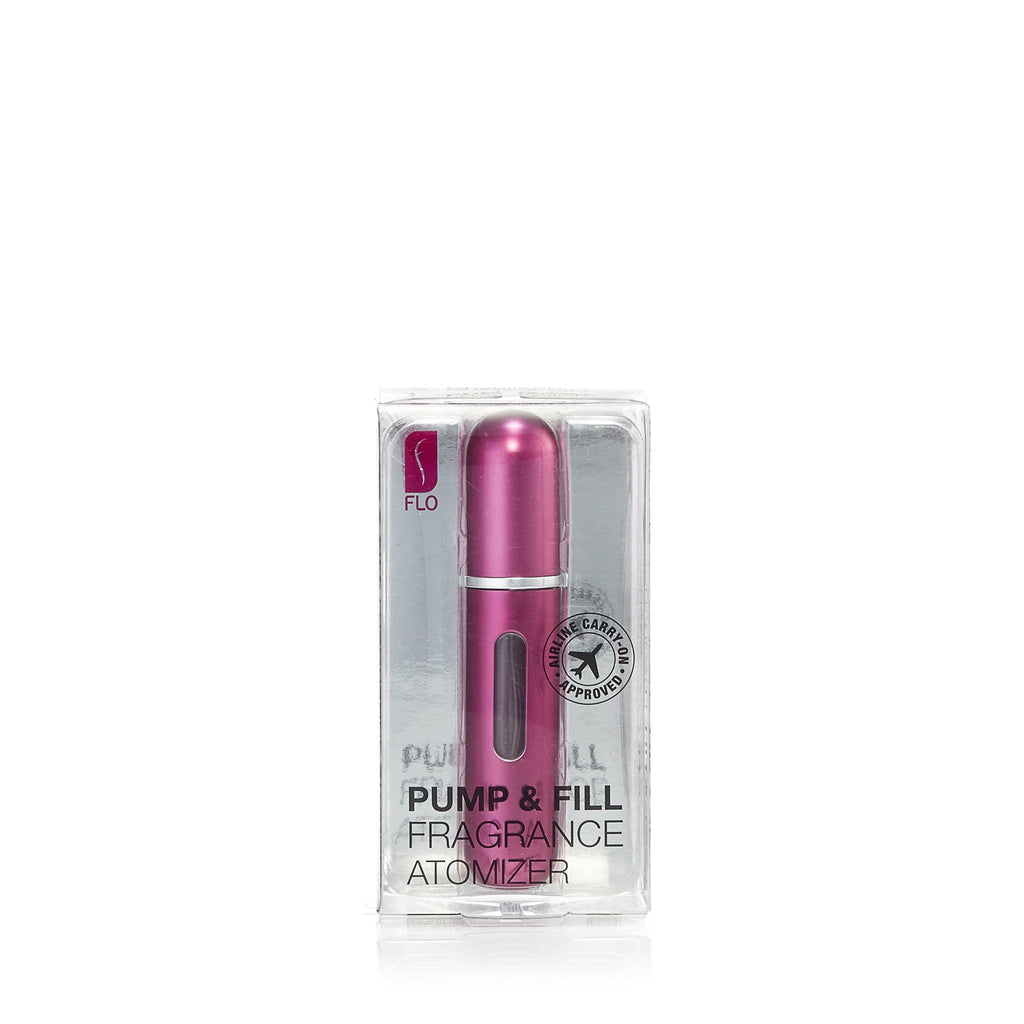 Pump and Fill Fragrance Atomizer by Flo Hot Pink