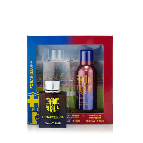 FC Barcelona Gift Set for Men by FC Barcelona 3.4 oz.