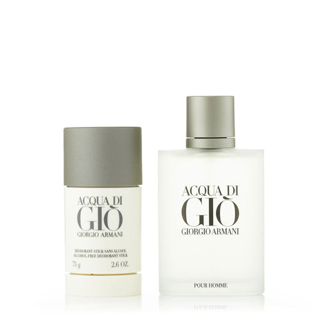 Acqua Di Gio Gift Set for Men by Giorgio Armani 3.4 oz